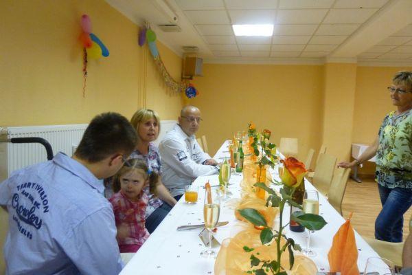 Interne Geburtstagsparty