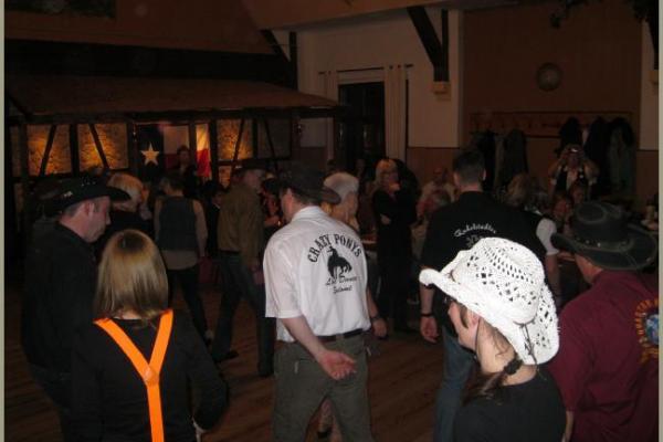 17.03.2012 Linedanceparty der Cracy Ponys in Salomonsborn im Gasthaus Hohe Warte