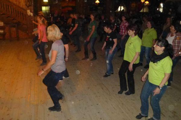 Line-Dance-Weekend vom 25. bis 27.04.2014 in Pullman City Harz