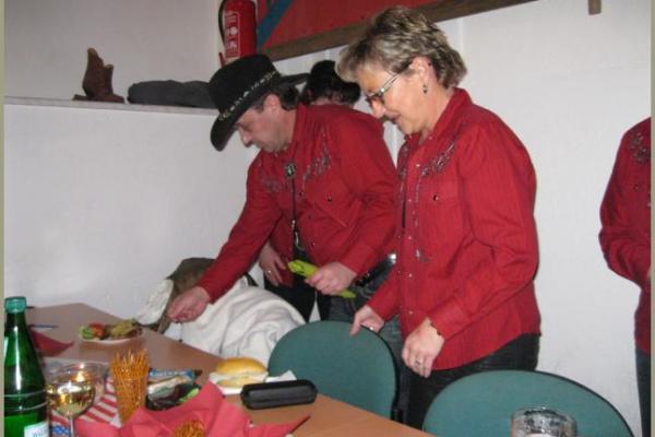 28.01.2012 - 6. Linedanceparty der Red Angels