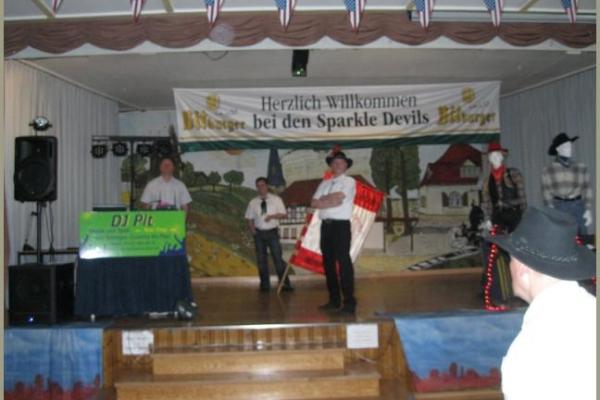 31.03.2012 7. Linedanceparty der Sparkle Devils in Alach im Gasthaus Zur Schenke