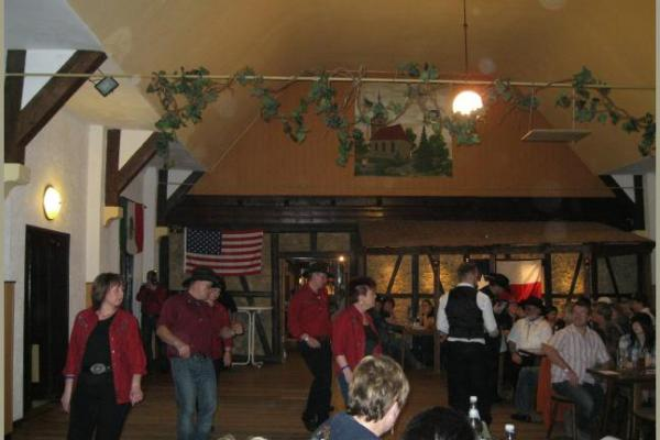 17.03.2012 Linedanceparty der Cracy Ponys in Salomonsborn im Gasthaus Hohe Warte