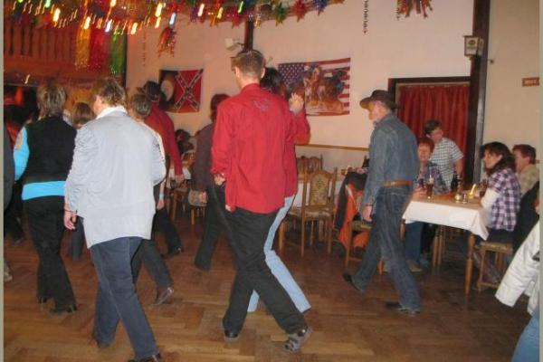 Linedance-Party der Dancing Badgers anlasslich des 6. Jahrestages mit DJ K.-D.